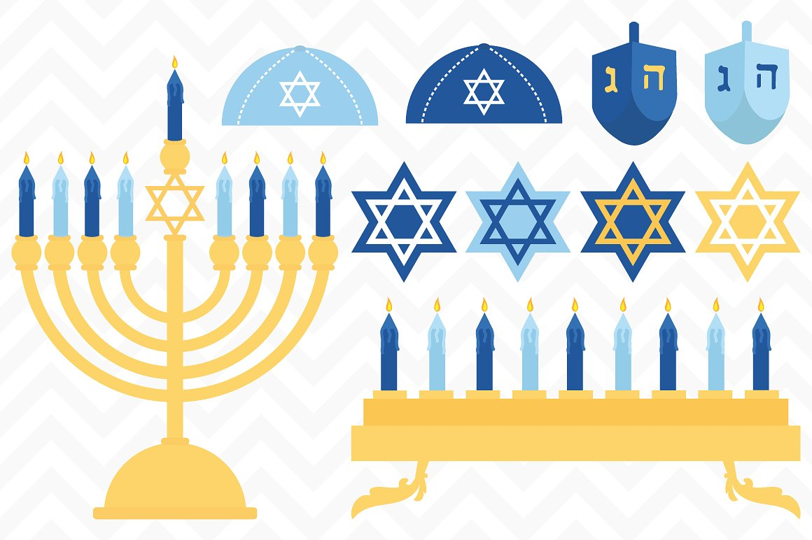 Hanukkah clip art Photos, Graphics, Fonts, Themes, Templates.