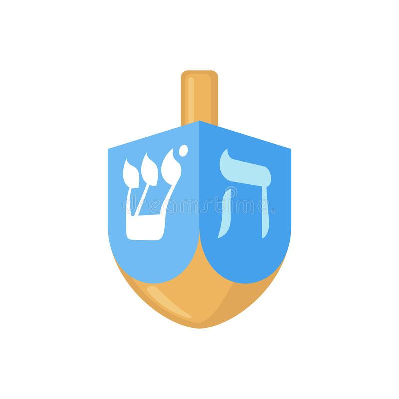 Hanukkah Dreidel Stock Illustrations.