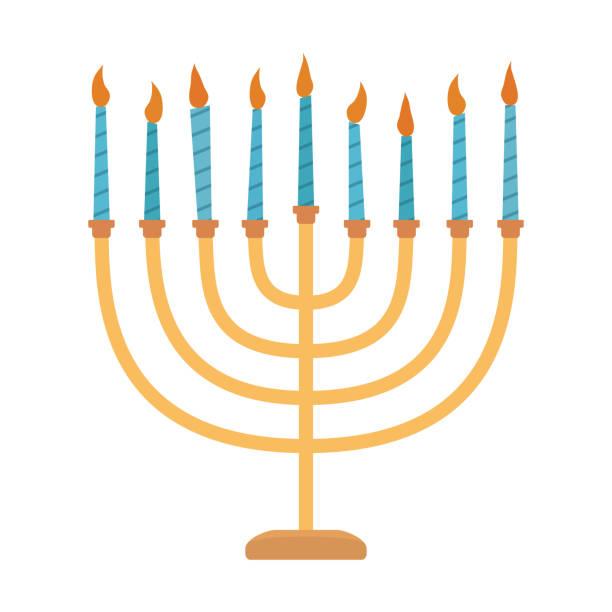 Best Hanukkah Menorah Illustrations, Royalty.