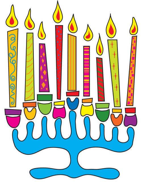 Hanukkah mynor clipart - Clipground