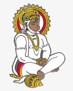 Free Hanuman Ji Clip Art with No Background.