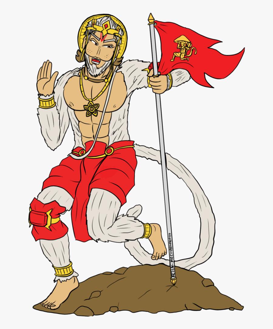 Transparent Hanuman Png.