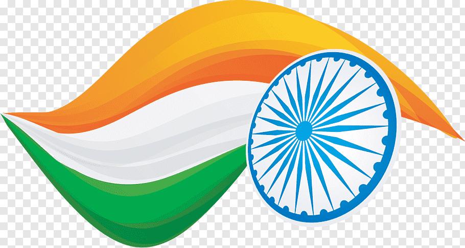 India flag illustration, Indian Independence Day Republic.