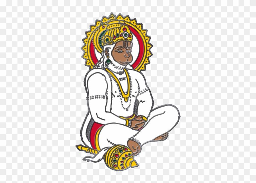 Hanuman Pin.