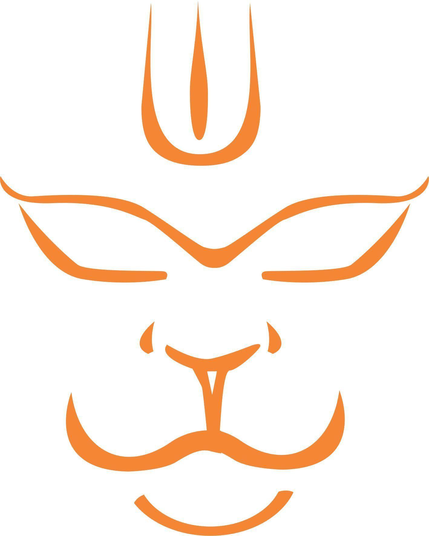 iDesign Hanuman Face Windows Car Sticker in 2019.