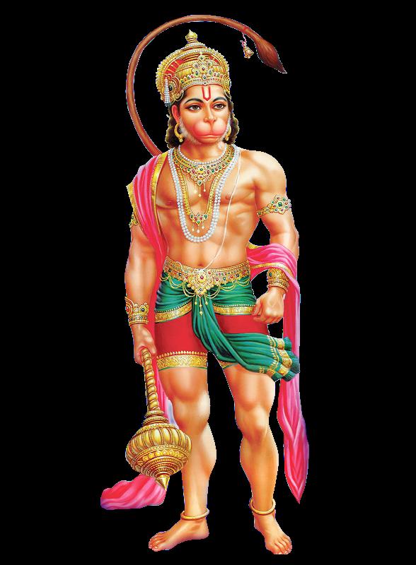 Hanuman Png Image Vector, Clipart, PSD.