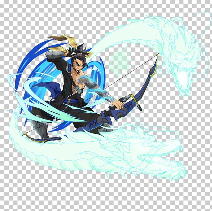 Overwatch Hanzo Dragon Png, Clipart, Art, Character.