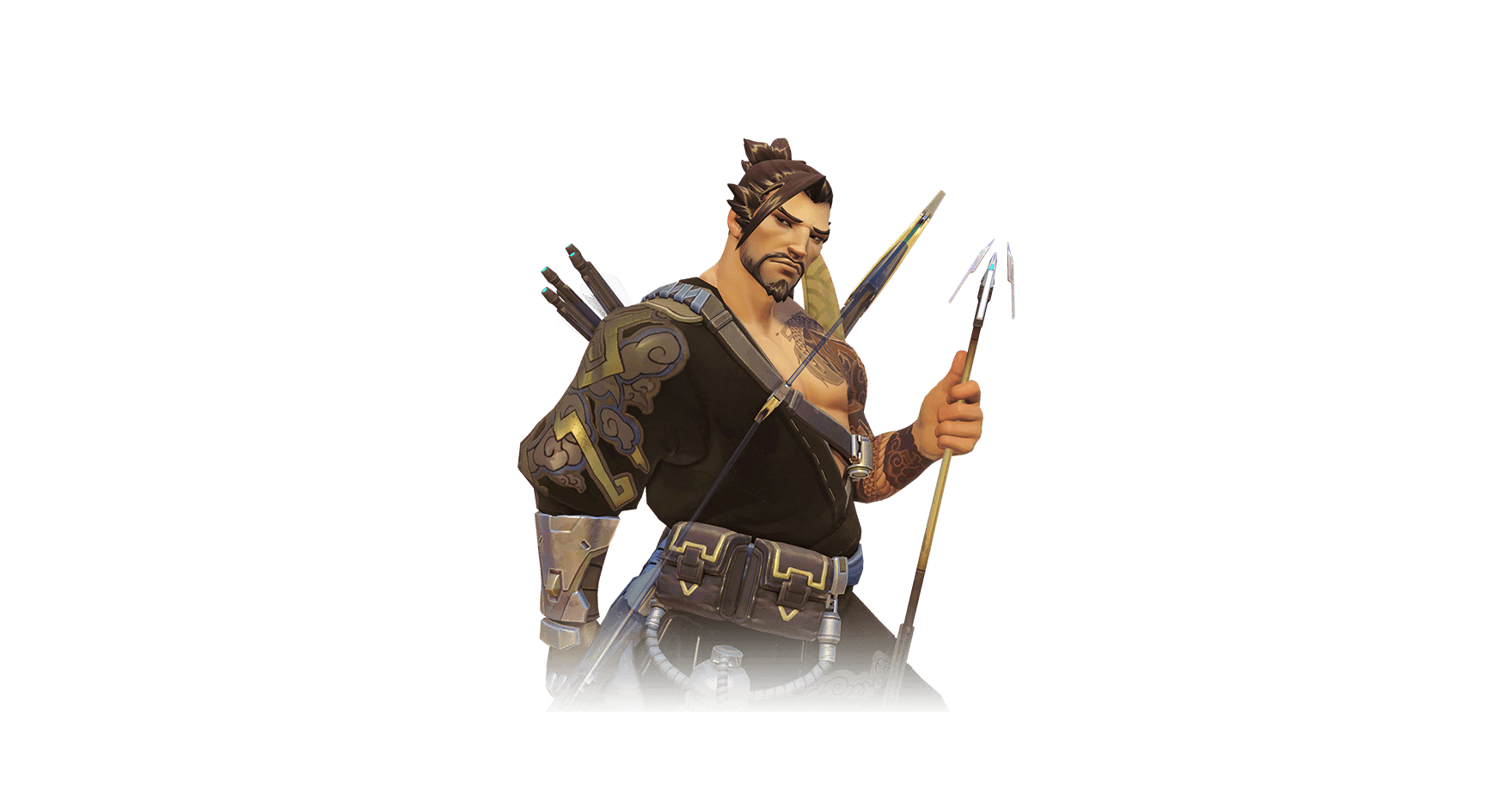 Hanzo transparent PNG.