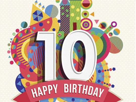 Happy 10th Birthday Images, Wishes, Quotes, Songs, Clip art, Poems.