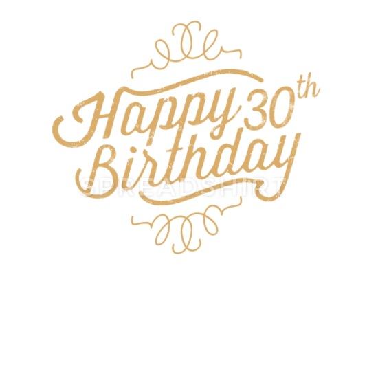 Happy 30th Birthday iPhone X/XS Case.