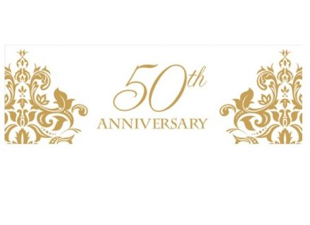 Happy 50th Anniversary Clipart Clipground 65th Wedding Color Souvenir Ideas