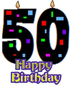 Happy 50th Birthday Clipart (97+ images in Collection) Page 2.