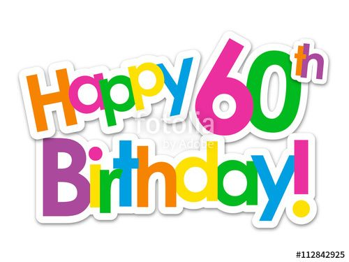 Image result for happy 60th birthday.