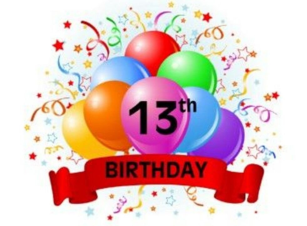 ♡☆ Happy 13th Birthday, you are now officially a Teenager.