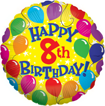 happy 8th birthday!.