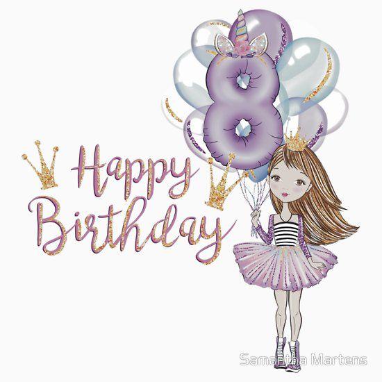Happy 8th Birthday Girl.