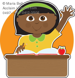 American student clipart.