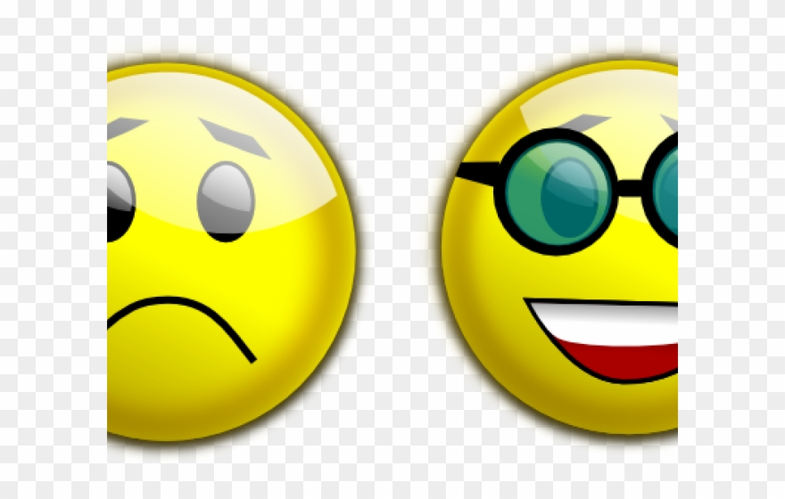 Sad To Happy Face Clipart (#1904708).