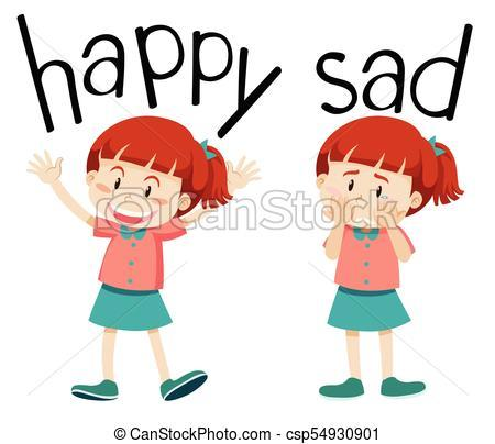 Happy and sad clipart 3 » Clipart Portal.