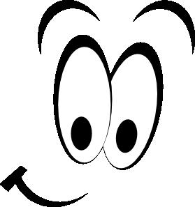 Happy Eyes Cartoon.