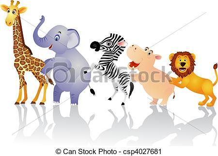 Happy animals clipart » Clipart Portal.