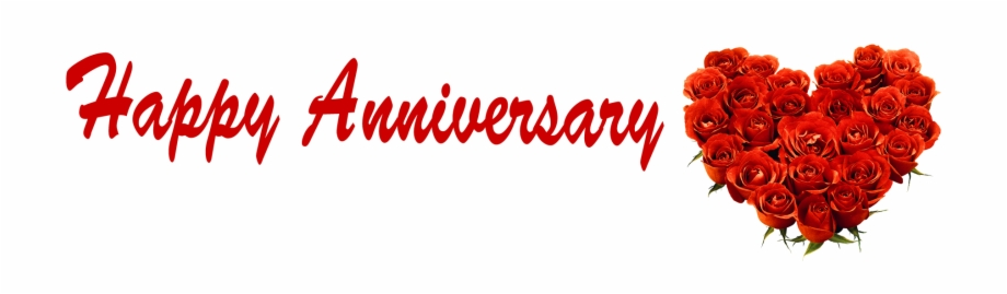 Happy Anniversary Roses Heart Name Png.