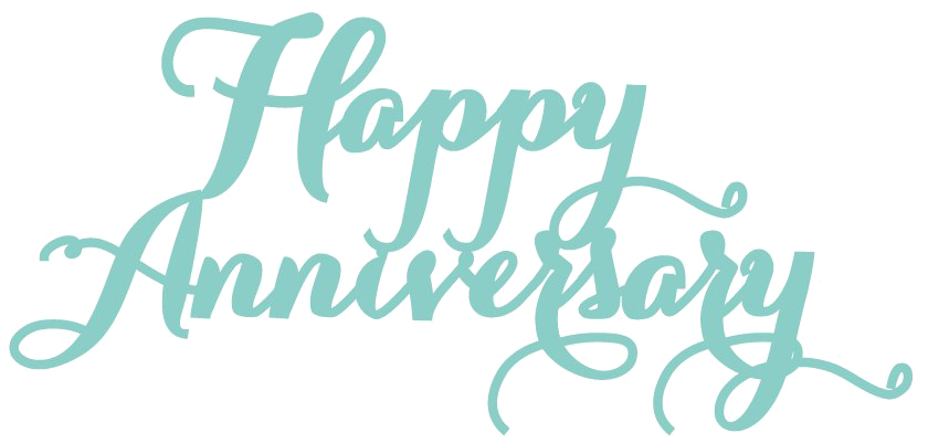 HD Happy Anniversary Png Picture.