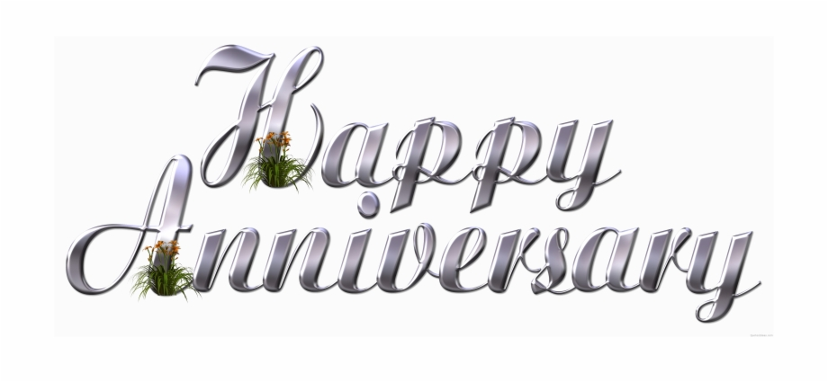 Happy Anniversary Transparent Images Png.