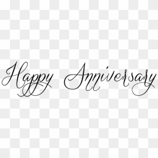 Happy Anniversary PNG Transparent For Free Download.