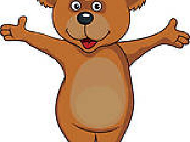 Happy Bear Cliparts 8.