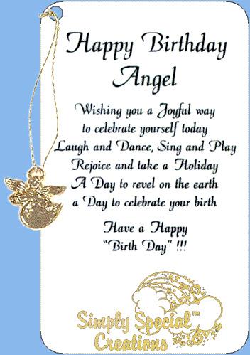 Happy Birthday Angel.