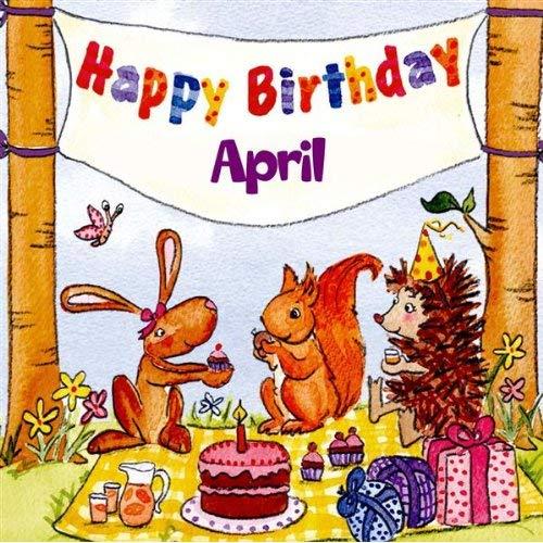 Happy Birthday April by The Birthday Bunch on Amazon Music.