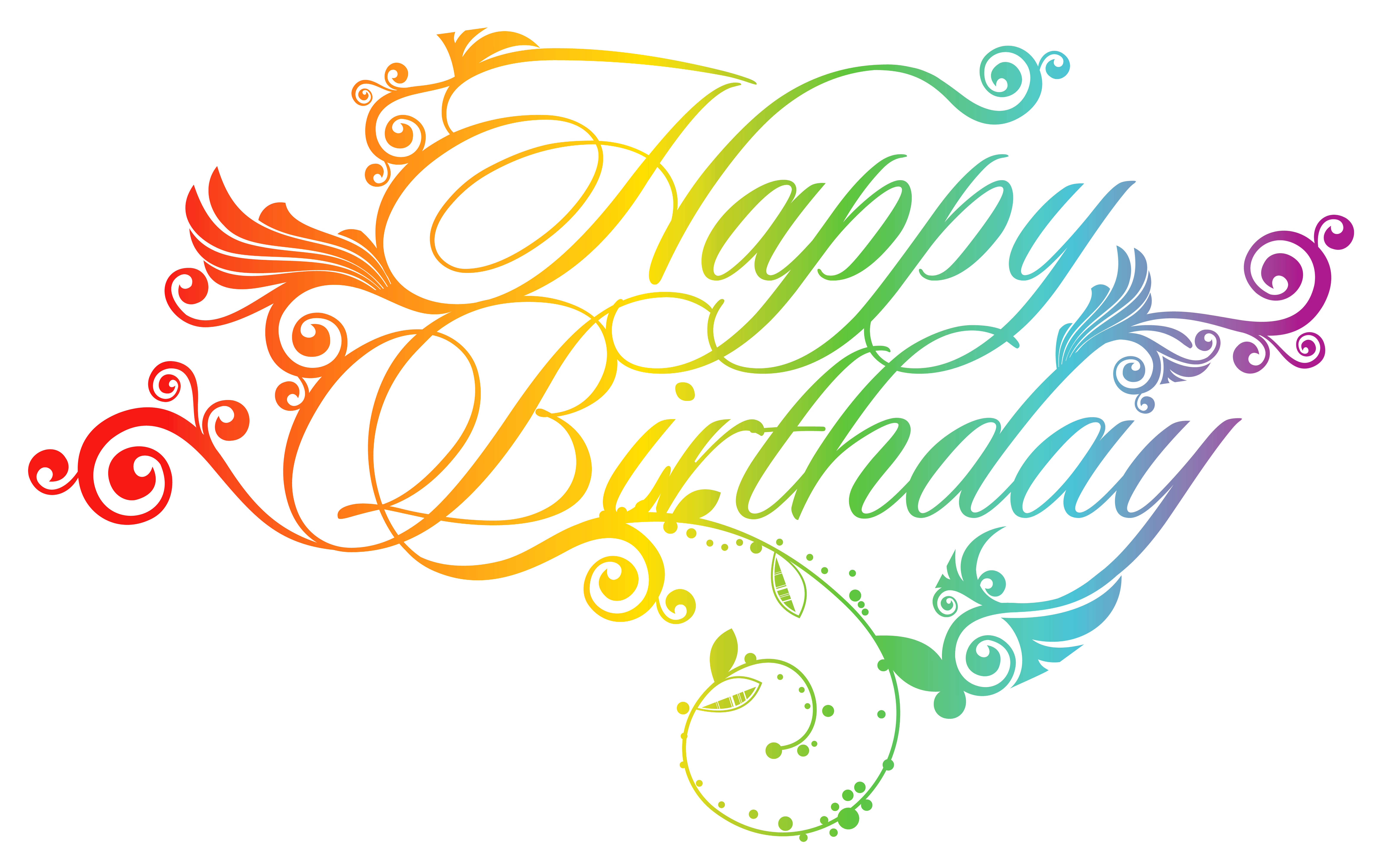 Birthday Greeting card Clip art.