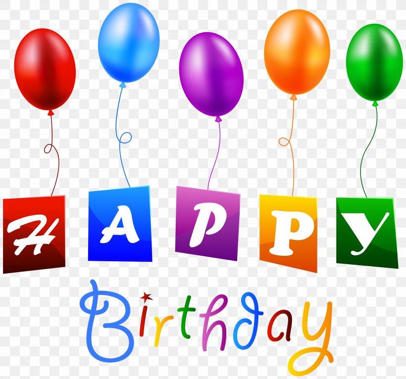 Birthday Balloon Clip Art, PNG, 5891x5507px, Birthday.