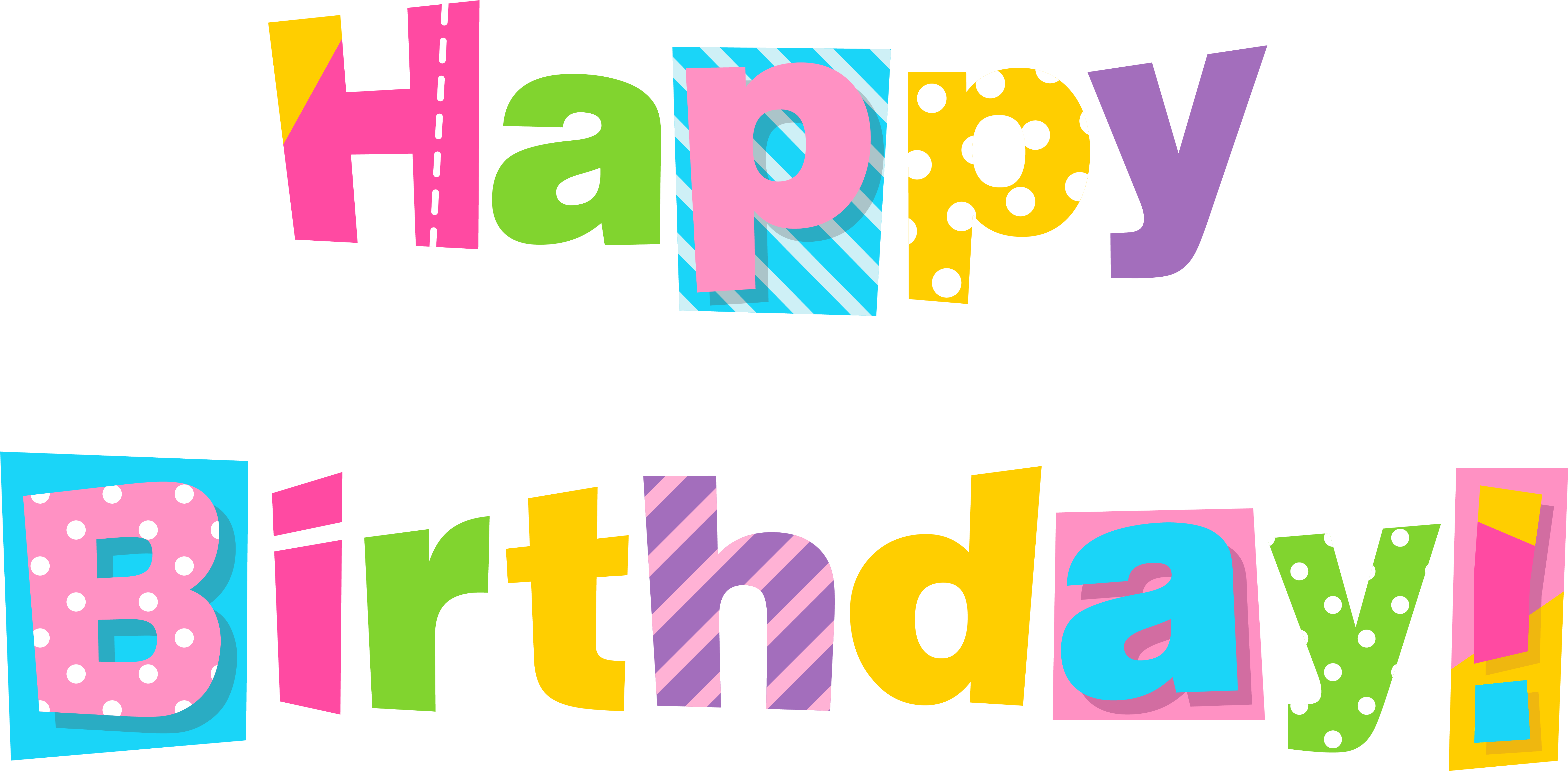 Happy Birthday Banner Clip Art Free Clipart Images.