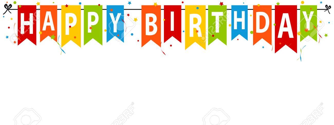 Happy Birthday Banner.