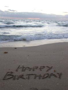 40 birthday on the beach.