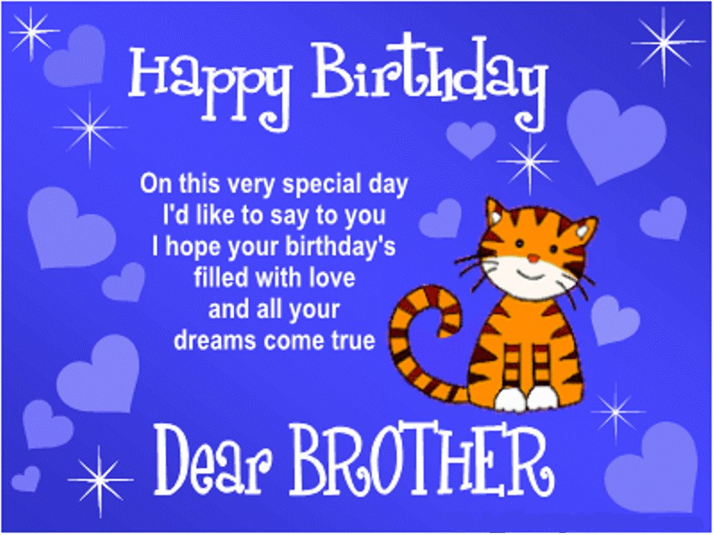 happy birthday big brother clipart #11