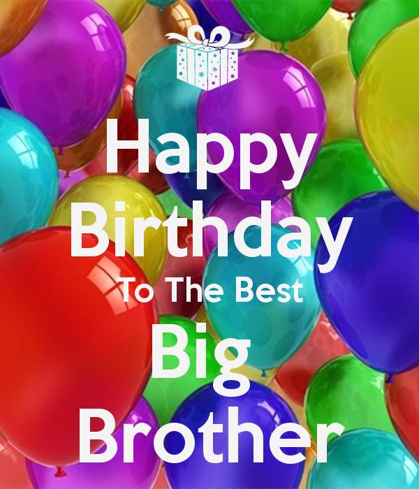Happy Birthday Big Brother Clipart.