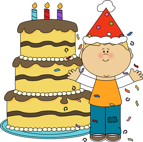 Happy Birthday Big Boy Clipart.