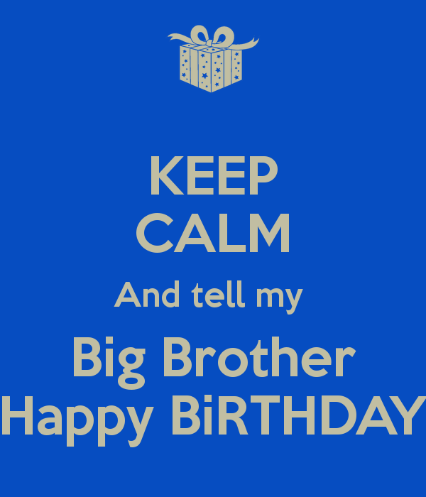 Happy Birthday Clipart For Brother.