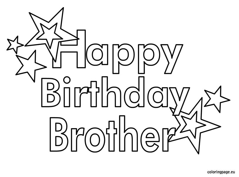 Top 80 ideas about Happy Birthday Brother on Pinterest.