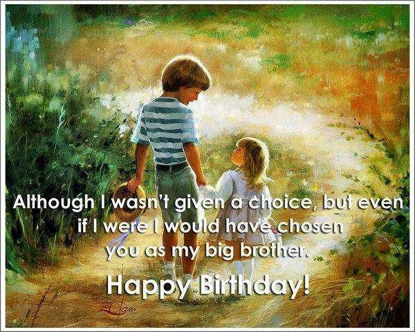 Brother Birthday Clipart.
