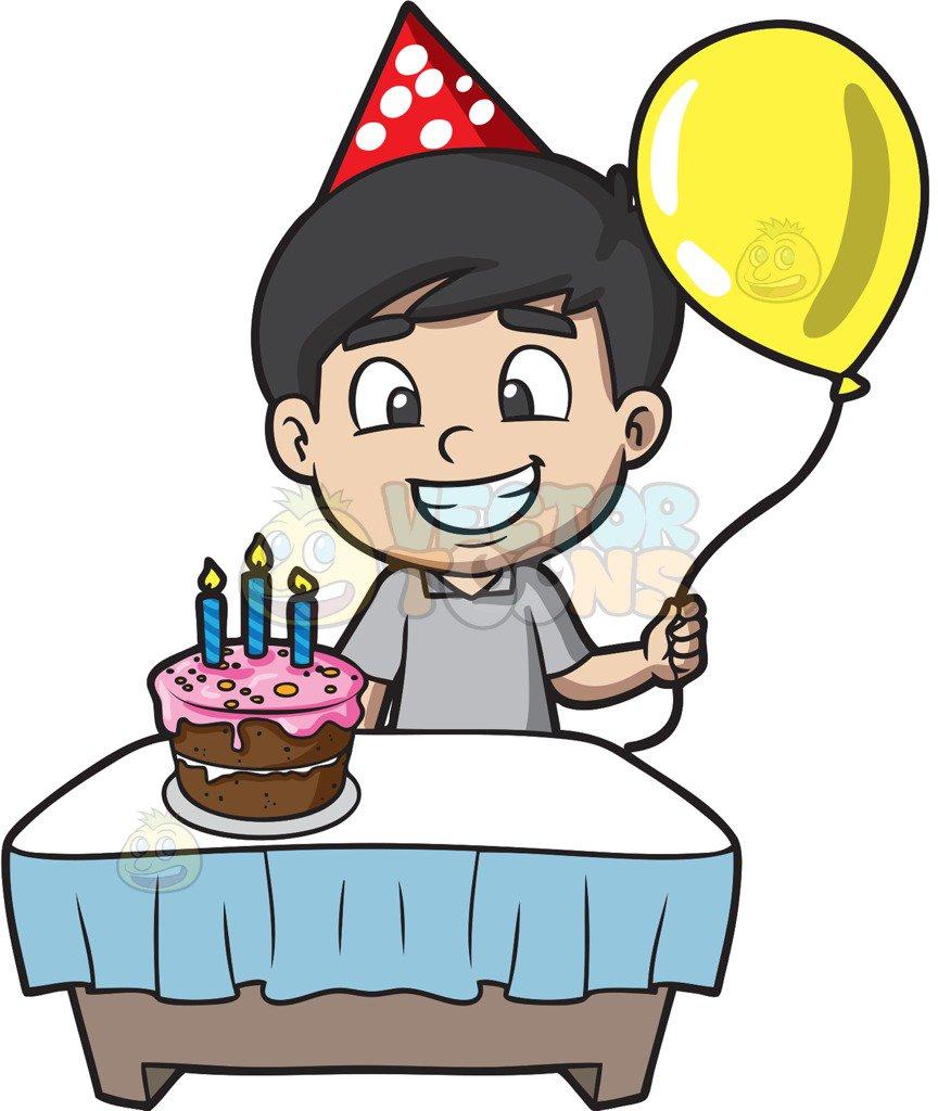 Happy Birthday Boy Clipart.