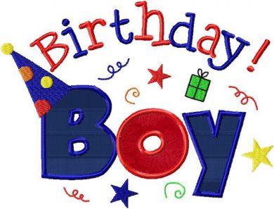Free Happy Birthday Boy, Download Free Clip Art, Free Clip Art on.