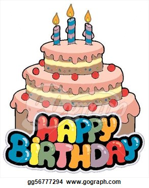 Happy birthday cake clipart 5 » Clipart Station.