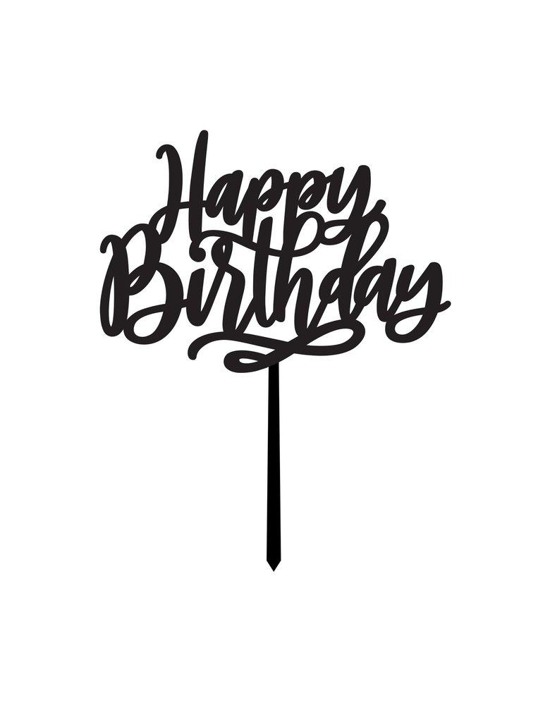 Happy Birthday CAKE TOPPER.