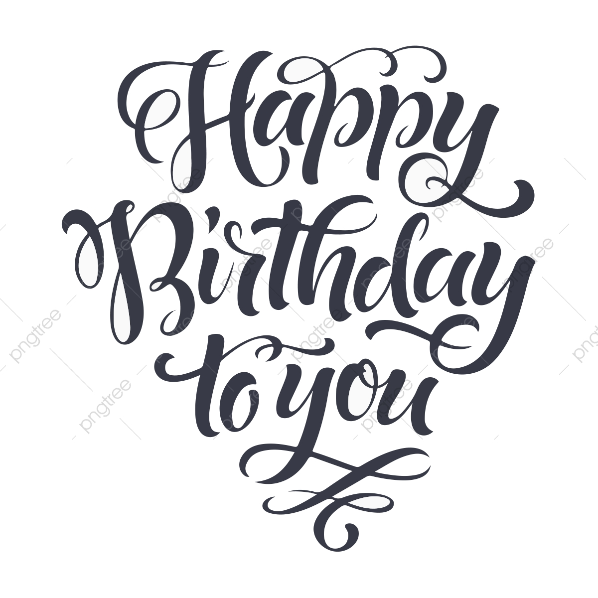 Happy Birthday To You, Birthday Vector, Birthday Template, Happy.