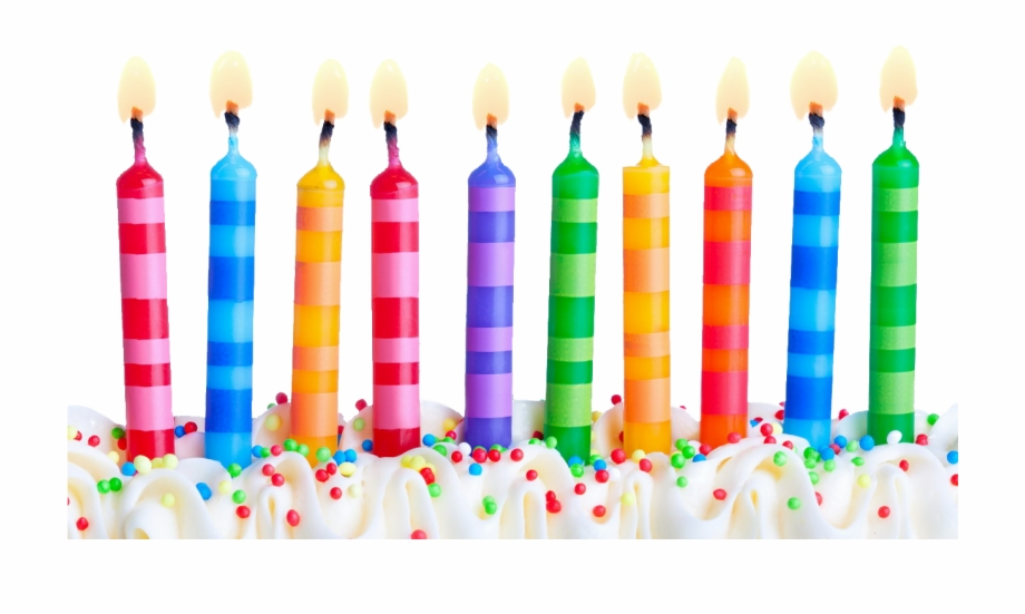 Free Birthday Candles Transparent Background, Download Free.