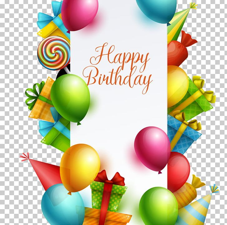Happy Birthday Card! PNG, Clipart, Atmosphere, Balloon.